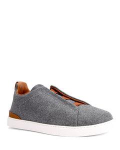 Jazz Court calfskin sneakers
