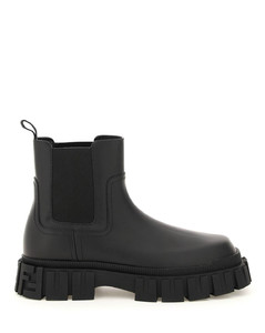 FORCE LEATHER CHELSEA BOOTS