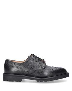 Business Shoes Derby PEMBROKE Scotchgrain leather
