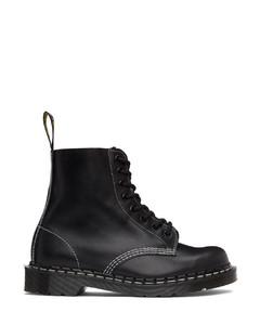 黑色Horween系列1460 Pascal英产踝靴