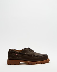 Lace-up boots S474 calfskin