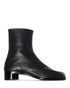 Tabi 30mm leather ankle boots