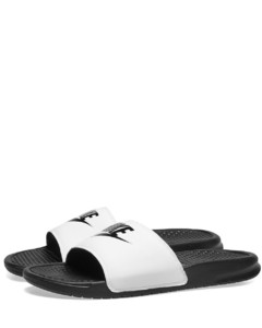 Leather white and green sneakers puma