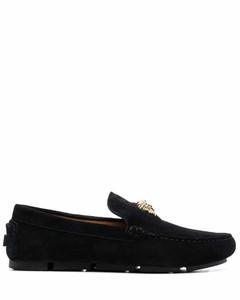 黑色Baroque Logo运动鞋