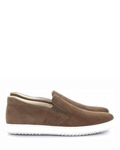 Sneakers Brown calfskin
