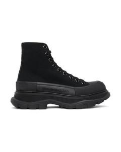 黑色Tread Slick高帮运动鞋