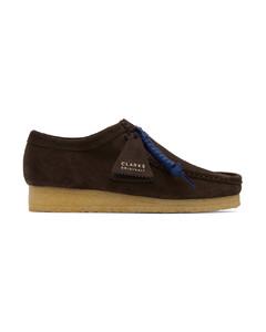 Suede Raffia Skate Shoes