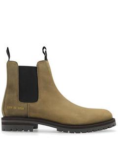 Arran皮革拖鞋