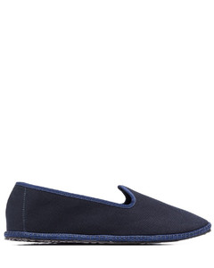 Trigreca leather and mesh trainers