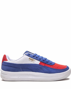 Two-tone leather Skel sneakers