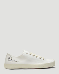 Tabi Low-Top Canvas Sneakers in White