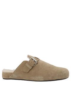 黑色Monk德比鞋