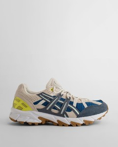 327 chambray and denim trainers