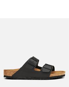 Men's Arizona Double Strap Sandals - Black