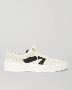 Suede, Leather and Canvas Sneakers