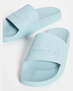 3D徽标凉拖鞋