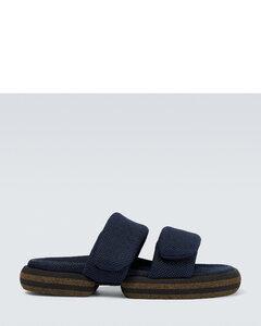 Horsebit leather loafers