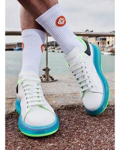Rubber slip-on sandals
