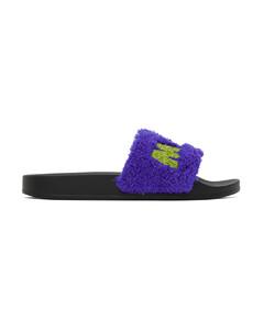 海军蓝佩斯利花纹运动鞋
