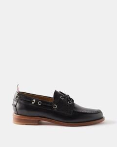 经典皮运动鞋
