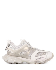 Track Clear Sole gray sneakers