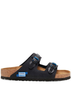Kombo Leather-Trimmed Suede Sneakers