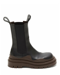 The Tire chunky-sole leather Chelsea boots