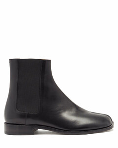 Tabi split-toe leather Chelsea boots