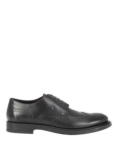 Smooth leather brogues