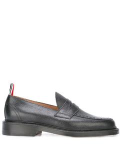 卵石纹皮底乐福鞋