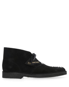 X Clarks Logo Ankle Boots
