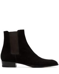 Wyatt皮革切尔西靴