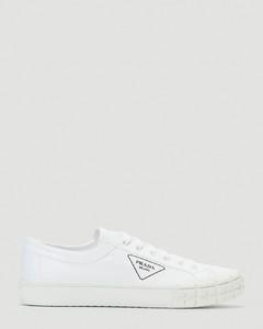 Cassetta Wheel Sneakers in White