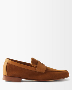 Kriss patent-leather trainers