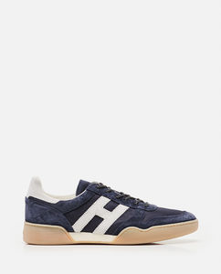 Mesh and suede H357 sneakers
