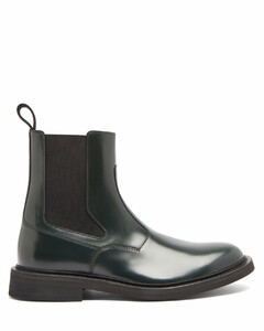 Panelled-leather Chelsea boots