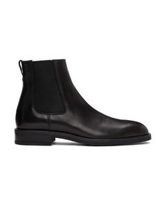 黑色Canon切尔西靴
