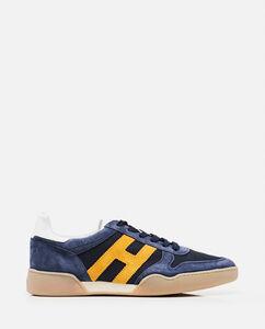 Suede H357 sneakers