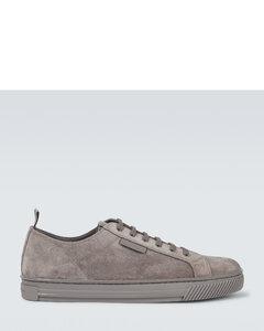 低帮绒面革运动鞋