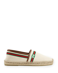 Men`s embroidered espadrille