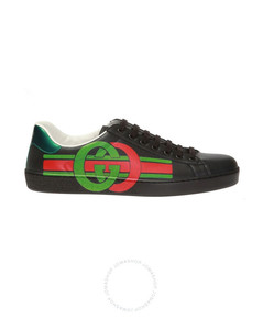 New Ace Men's Black Sneakers