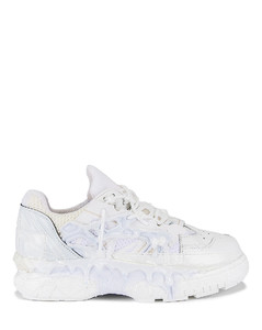 Fusion Low Top in White