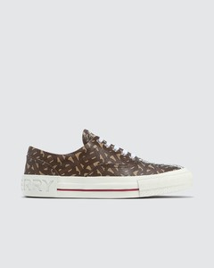 Monogram Stripe E-canvas Sneakers