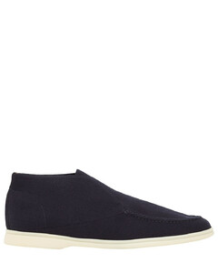 Open Walk Knit Slip-on Desert Shoes