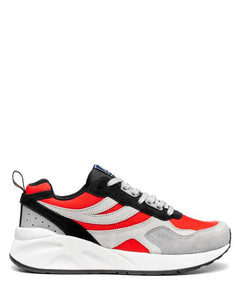 Low Buckle Sneakers in White