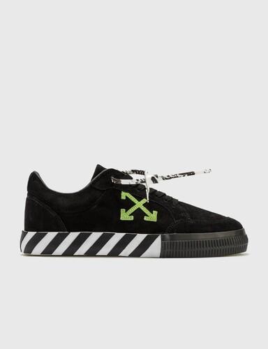 Low Vulcanized Cow Suede Sneaker