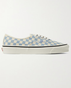 Anaheim Factory Authentic 44 DX Checkerboard Canvas Sneakers
