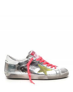 Logo-patch distressed-effect sneakers