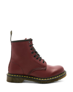 1460 8 Eye Boot in Red