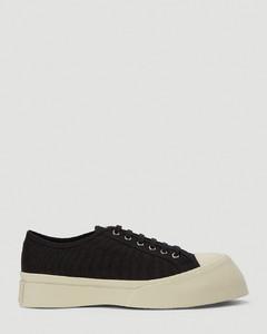 Canvas Sneakers in Black